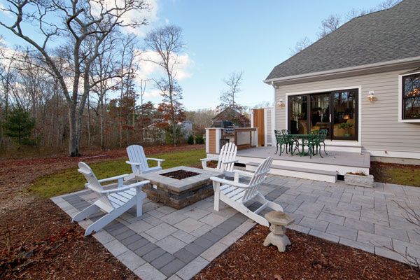 Outdoor Living Space image of Stratham House Plan