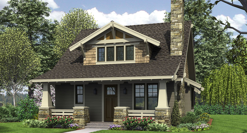 House Plan 5188: House Plans with Detached Garages
