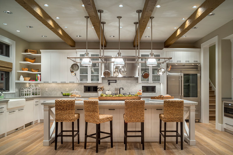 Country House Plan with 4 Bedrooms and 45 Baths Plan 5202 – House Plans With Gourmet Kitchens