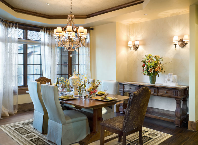 Dining Room by DFD House Plans