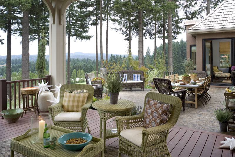 Outdoor Living Space image of Wayne House Plan