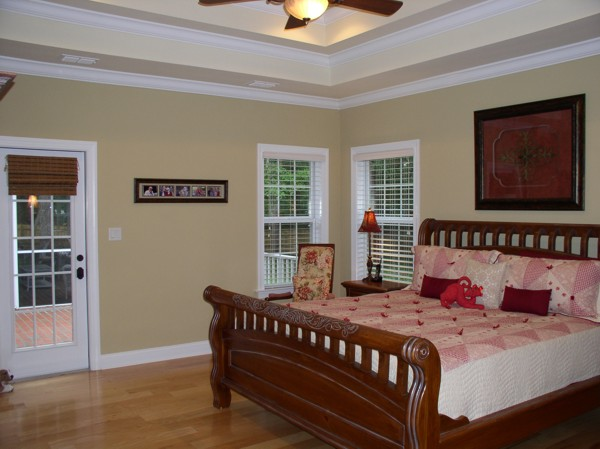 Master Bedroom image of The Oconee House Plan