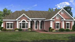 Elegant Colonial House Plans by DFD House Plans