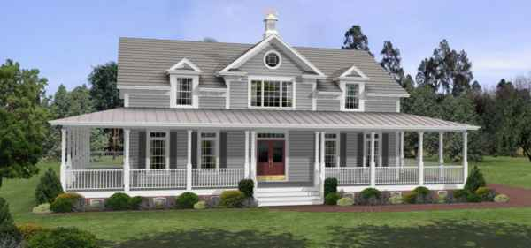 Southern House Plan with 3 Bedrooms and 25 Baths Plan 6245