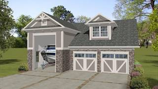 Garage Plans to Fit Boats and RVs by DFD House Plans