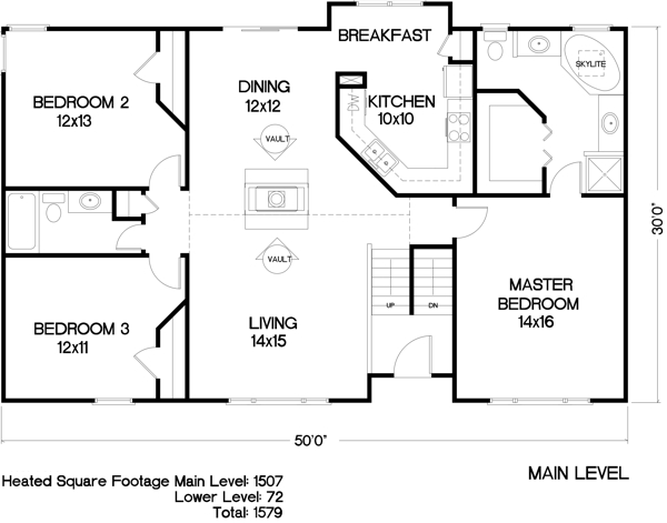 Country House Plan With 3 Bedrooms And 2 5 Baths Plan 6286
