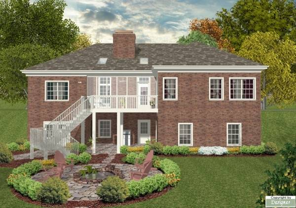 Southern House Plan With 3 Bedrooms And 2 5 Baths Plan 8433
