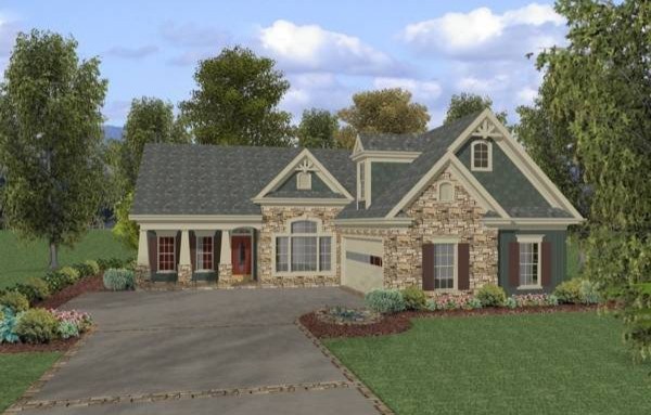 Rendering image of The Aberdeen House Plan