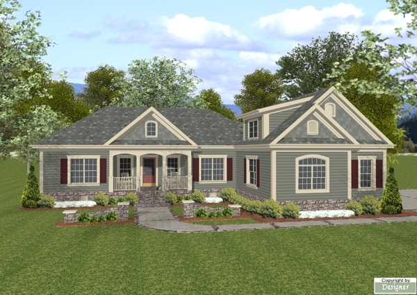 Front Elevation image of The Wellsley Cottage-S House Plan