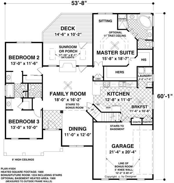 House The Madison House Plan - Green Builder House Plans