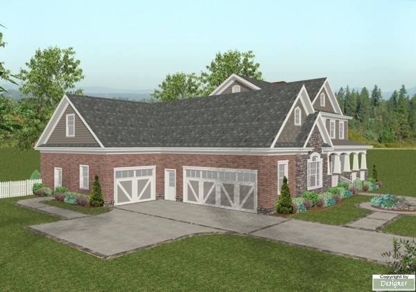Side View by DFD House Plans