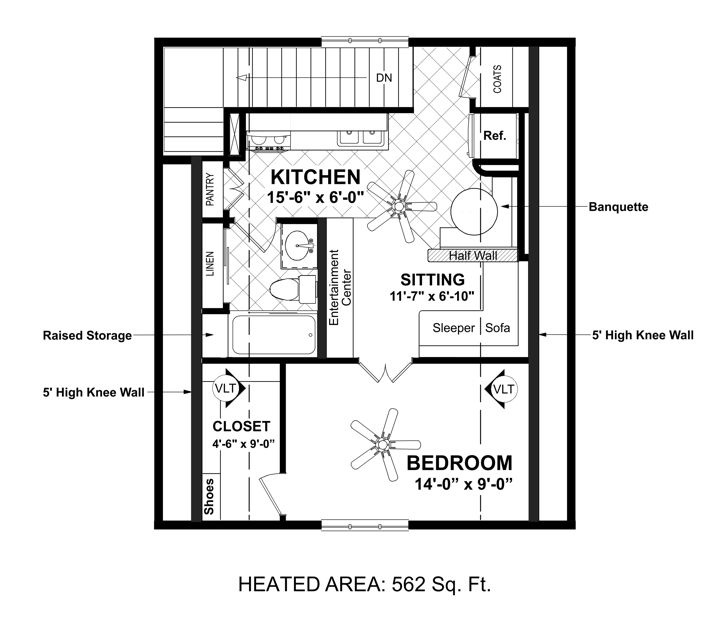 Amazingplans Com Garage Plan Aps0704: Plan 9033
