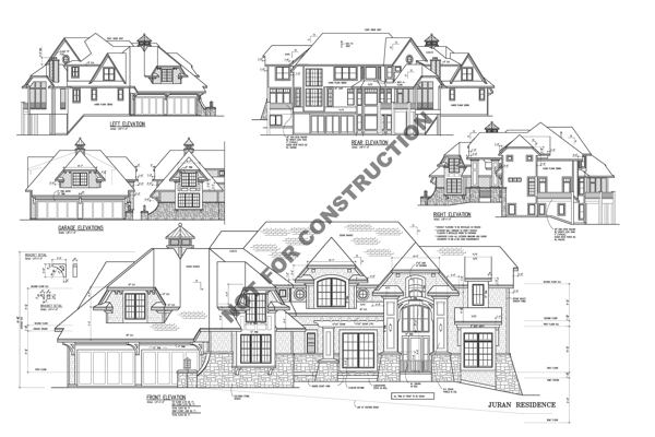 All Elevations image of Bellingham House Plan
