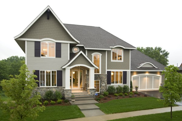 Modern House Plan with 4 Bedrooms and 4.5 Baths - Plan 1900