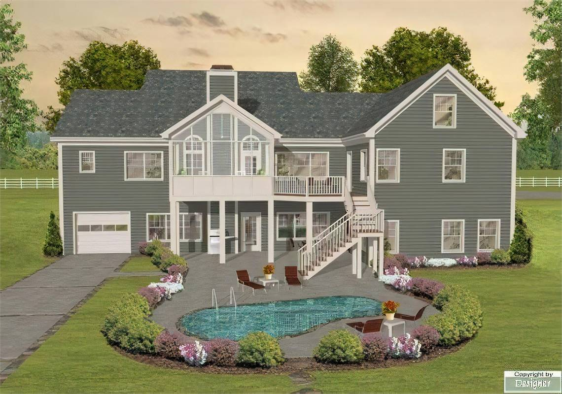 image of The Long Meadow House Plan