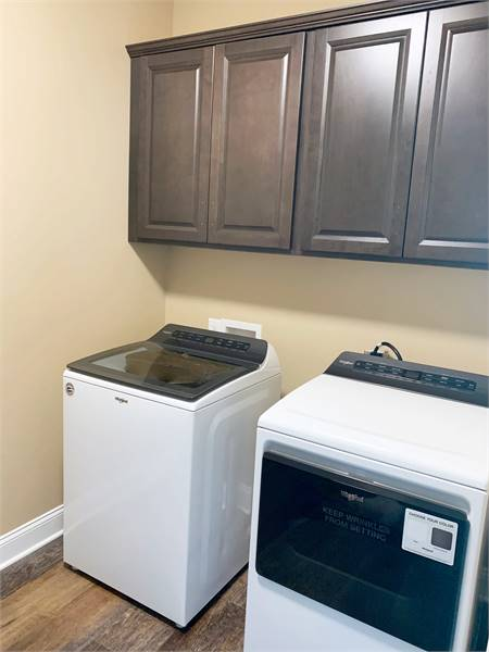 Laundry Room Featuring Whirlpool® Appliances image of The Oak Lane House Plan