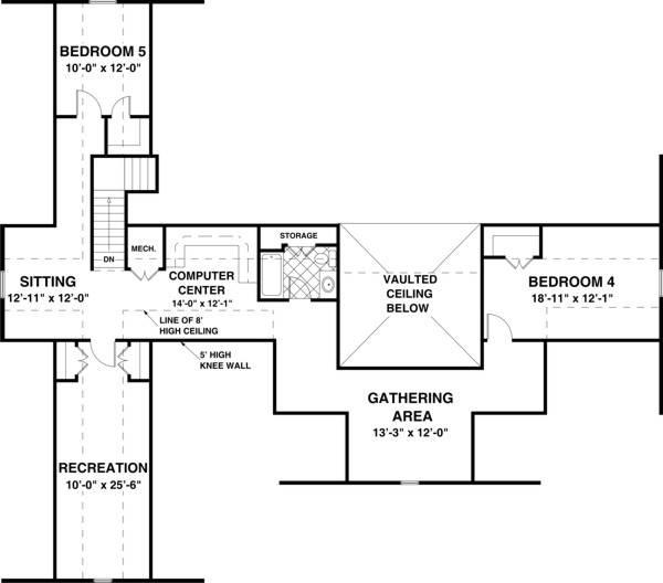 Bonus Plan image of Country Creek House Plan