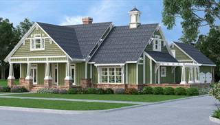 craftsman house plans by dfd house plans - Farmhouse Plans