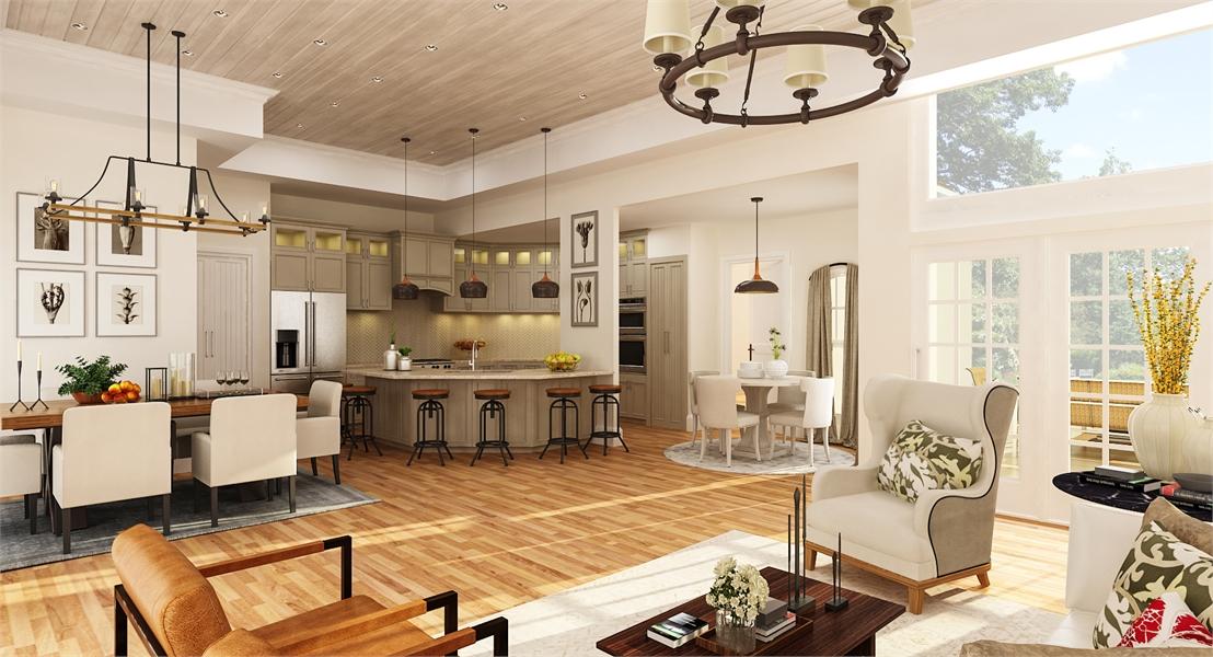Kitchen image of Brookside House Plan
