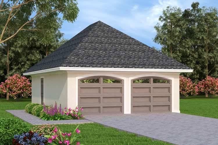 Optional Detached Garage image of Penny Lane House Plan