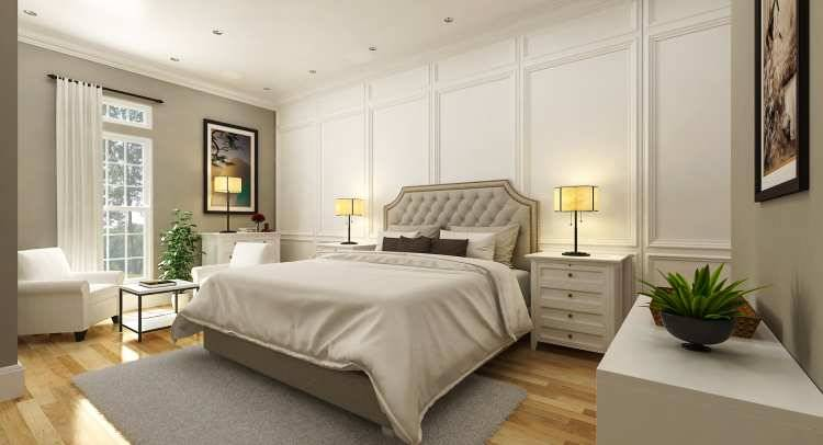 Master Bedroom image of Penny Lane House Plan