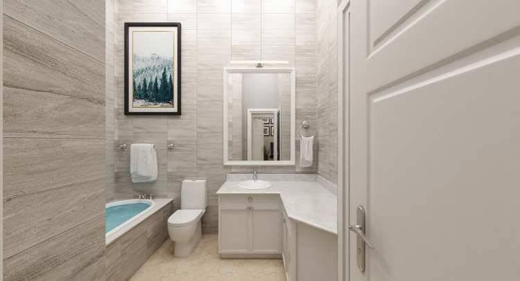 Hall Bath image of Penny Lane House Plan