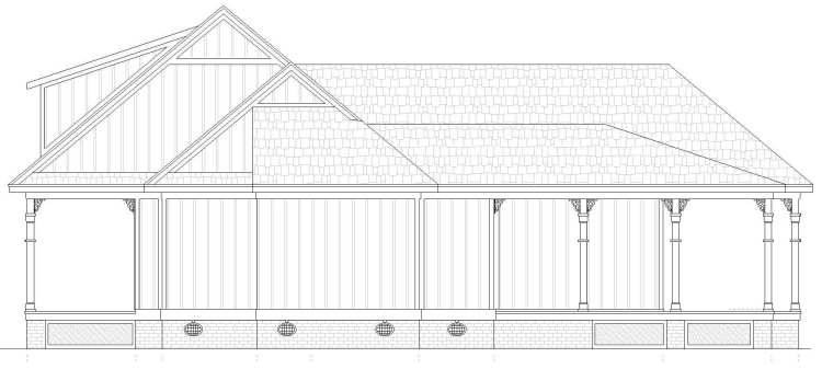 Right View image of Lorman House Plan