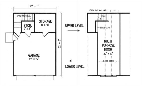 Floor Plans by DFD House Plans