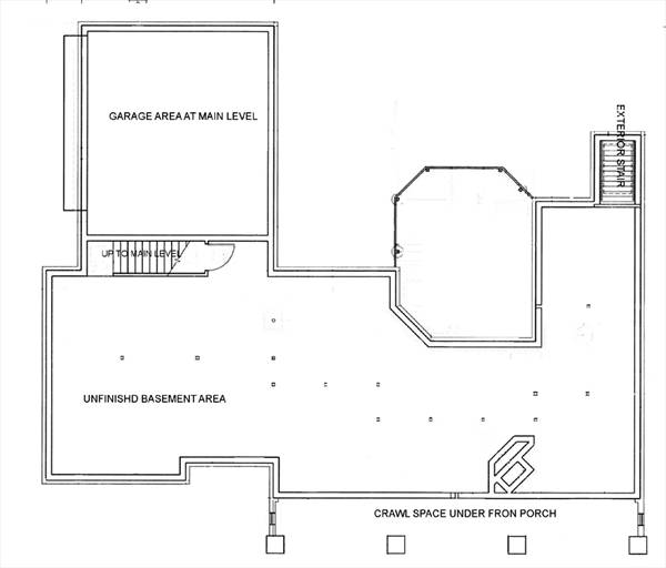 Optional Basement Foundation by DFD House Plans