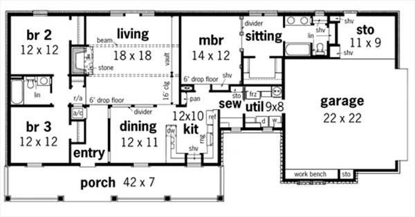House Frontier 1607 House Plan Green Builder House Plans