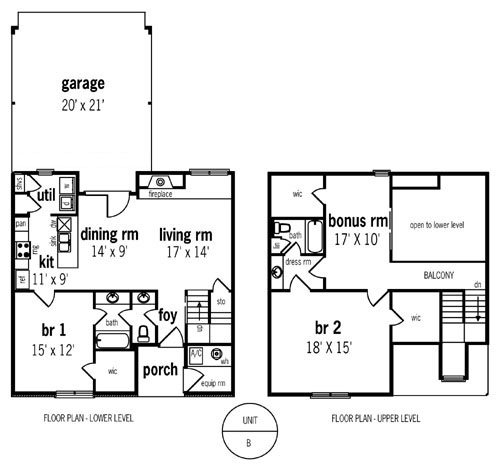 Multi family plan 6869 - Multi unit house plans family friends ...