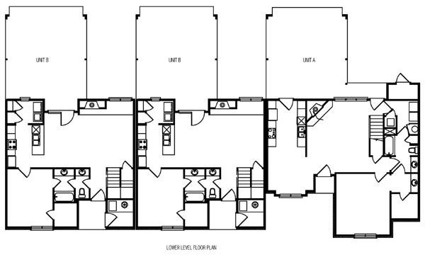 Multi family plan 6869 for Cdn images family home plans