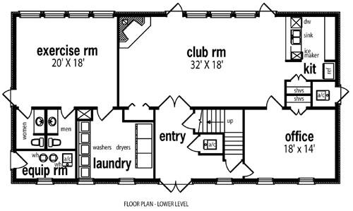 Multi family plan 6867 for Cdn images family home plans