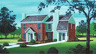 Duplex Home Styles by DFD House Plans