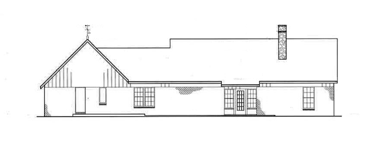House frontier 1607 house plan green builder house plans for Frontier plans