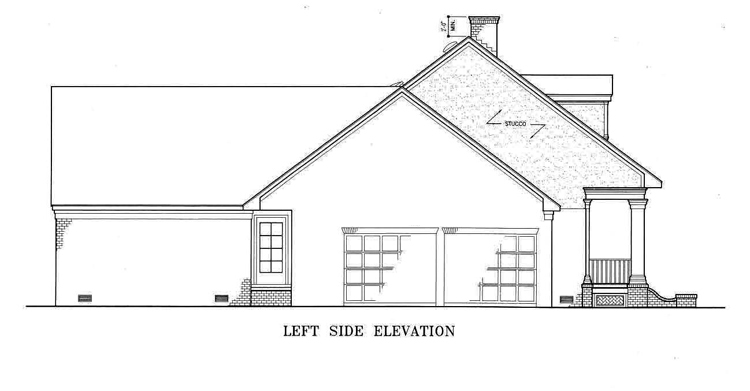 Left side elevation