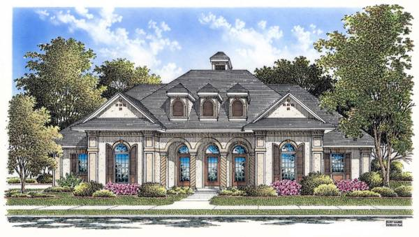 Front Rendering image of Tuscany-2314 House Plan
