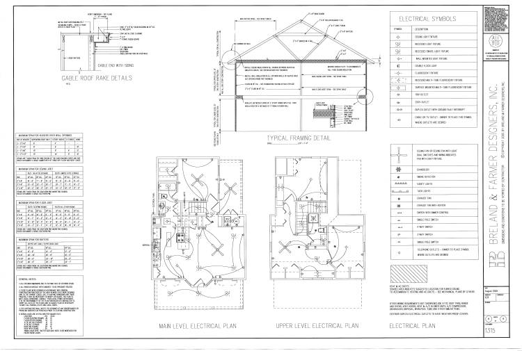 working drawing sheet 8 by DFD House Plans