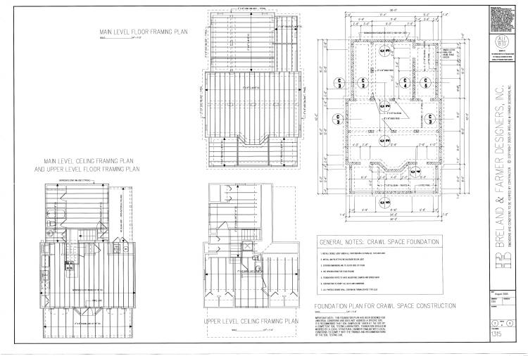 working drawing sheet 2 by DFD House Plans