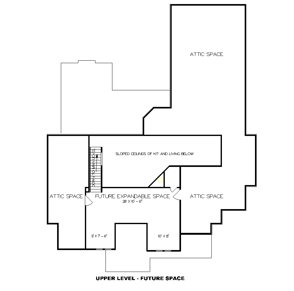 Cottage House Plan with 3 Bedrooms and 2.5 Baths - Plan 4295