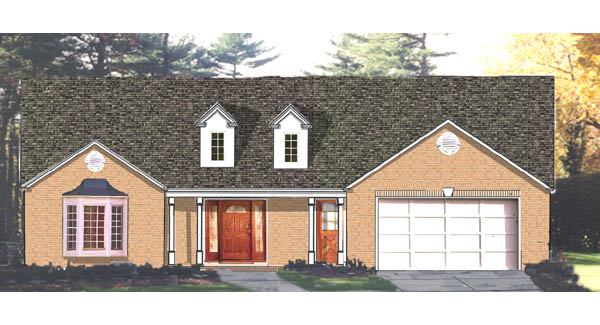 color by DFD House Plans