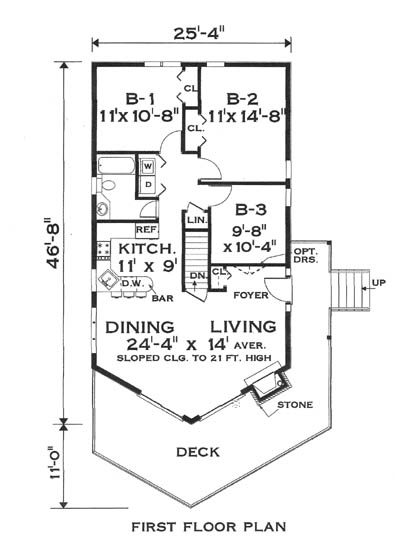 Genial Floor Plan Image Of Great Chalet House Plan