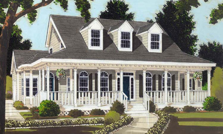 Colonial House Plan with 3 Bedrooms and 3.5 Baths - Plan 8366 on designs for manufactured homes, designs for log homes, designs for victorian houses, designs for bi level homes, designs for ranch style homes,