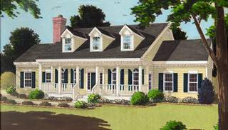 Cape Cod Home Ideas by DFD House Plans