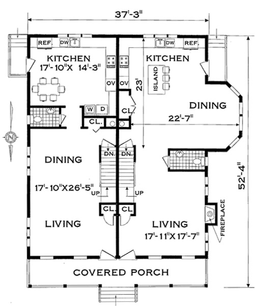 Multi-Family - Plan 4285