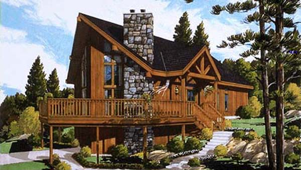 color rend by DFD House Plans