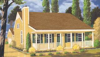 Cape Cod Style Home Plans by DFD House Plans
