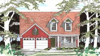 Cape Cod Style House Plans by DFD House Plans
