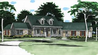 Farmhouse Style Home Plans by DFD House Plans