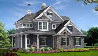 Large Victorian Style Home Plans by DFD House Plans